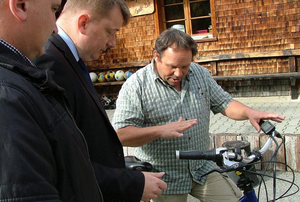 Nachhaltiger Tourismus und Elektromobilität – Internationale Fachexkursion im Goms