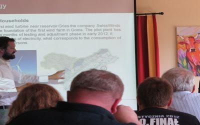 Erneut besuchten polnische Regionalentwickler das Oberwallis