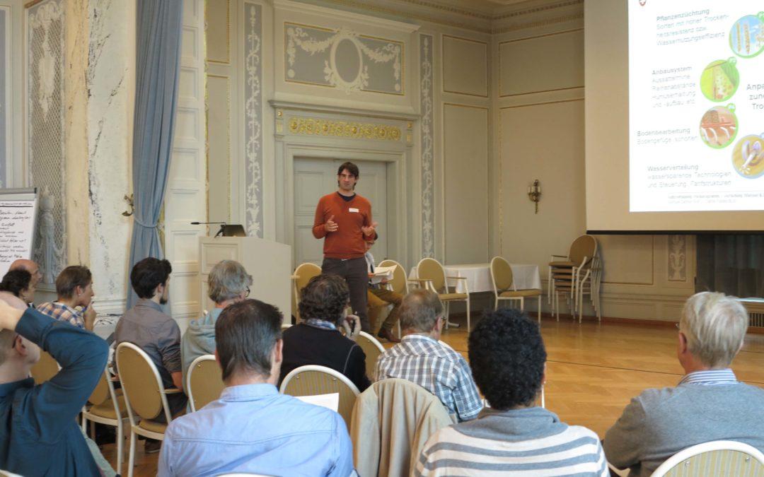 Halbzeit-Tagung – Pilotprogramm Anpassung an den Klimawandel