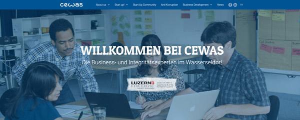 cewas Start-up-Programm 2017: Erstmals auch in Schweden