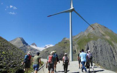 Gut besuchte Windexkursion auf dem Griesspass