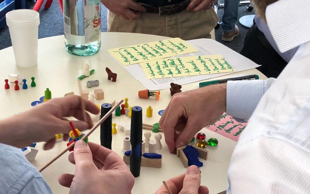 Innovation in der Regionalentwicklung? Knete, Holz und Schnur machen es möglich