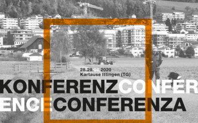 regiosuisse-Konferenz: «Schweiz 2040: Regional- und Raumentwicklung von morgen – Trends, Visionen, Entwicklungsfelder»