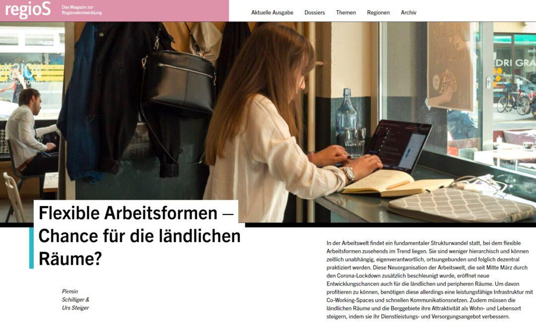 Das Magazin «regioS» erscheint neu auch online!