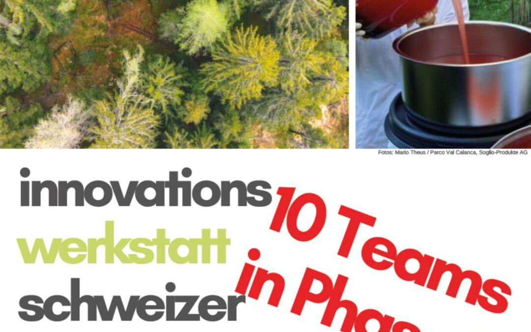 Wertschöpfung aus Biodiversität? 51 Teams schmieden Ideen in der Inno-Werkstatt