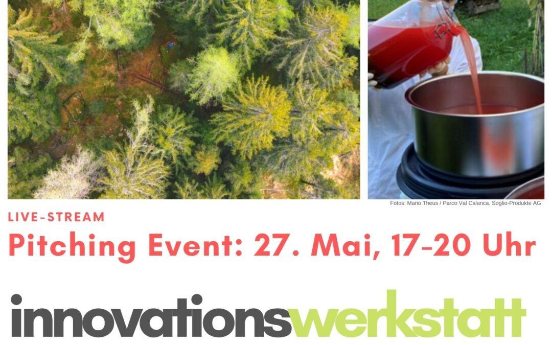 Sei dabei: Inno-Werkstatt Pitching Event am 27. Mai