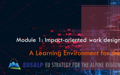 Wirkungsorientiertes Arbeiten: 1. Modul der EUSALP Learning Environment
