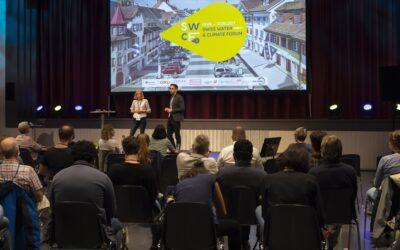 Swiss Water and Climate Forum: erfolgreich gestartet – 9 Projekte gehen in den «Brüter»